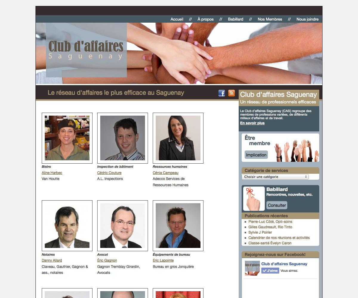 Club d'affaires Saguenay