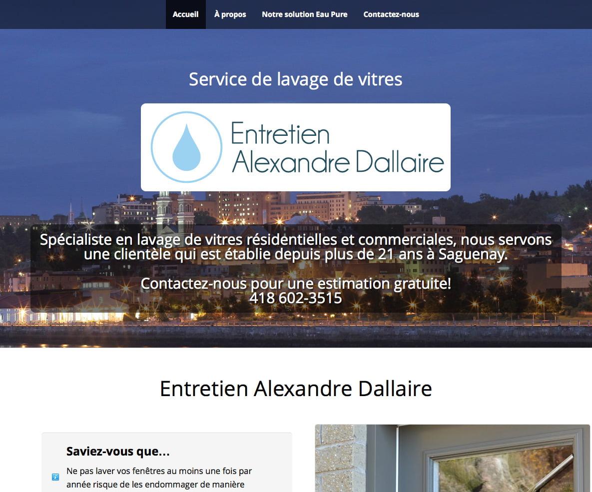 Entretien Alexandre Dallaire