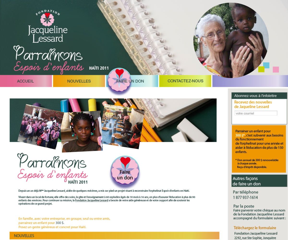 Fondation Jacqueline Lessard
