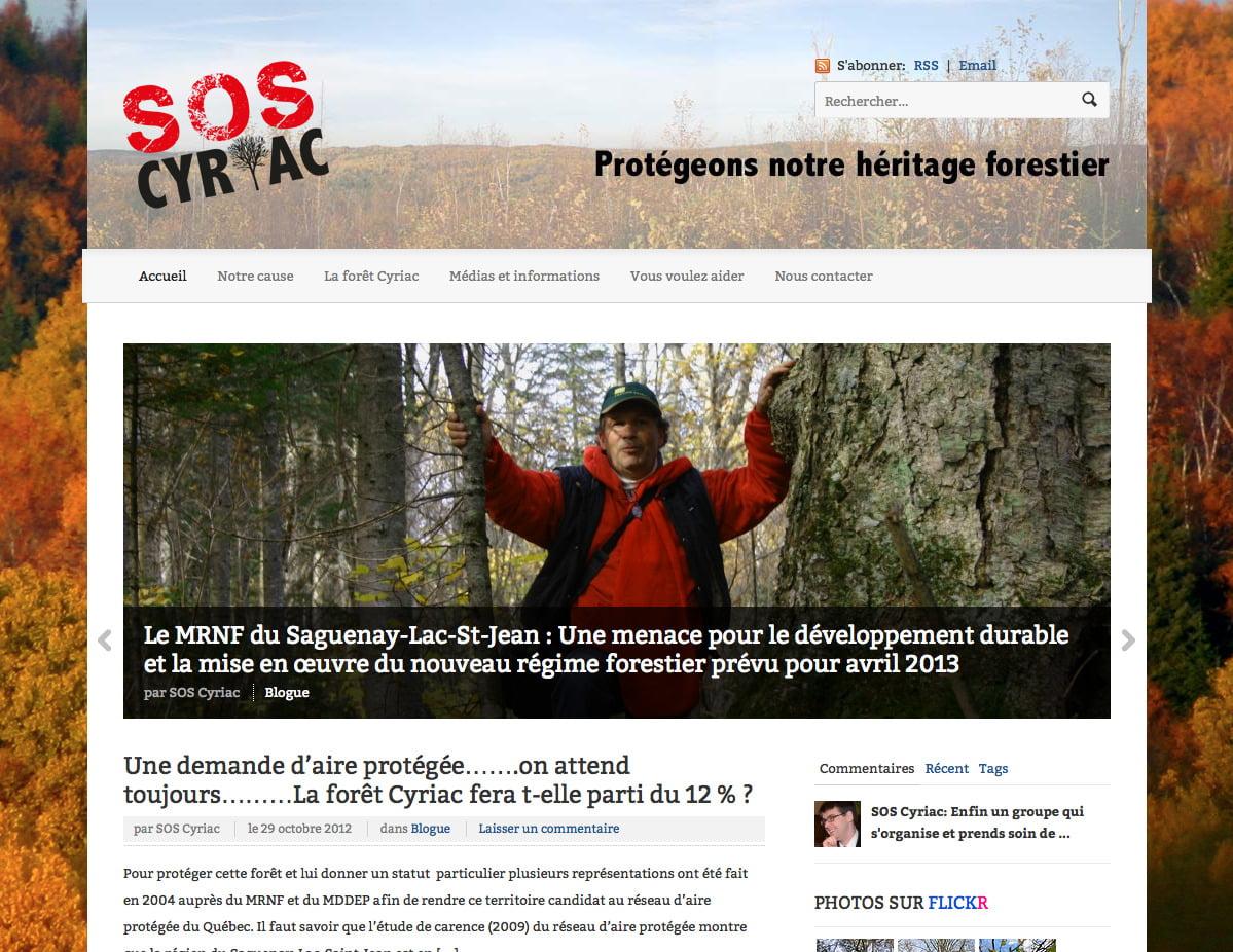 SOS Foret Cyriac